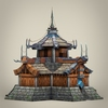 22 19 58 950 game ready fantasy medieval house 07 4
