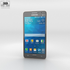 Samsung Galaxy Grand Prime Duos TV Gray 3D Model