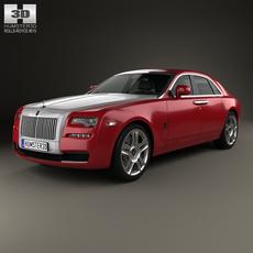 Rolls-Royce Ghost 2014 3D Model