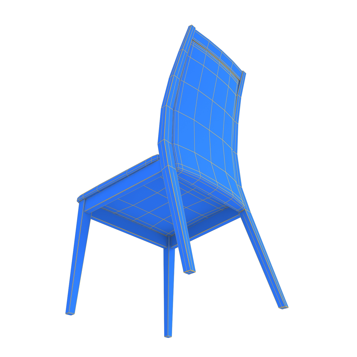 Chair Cortina Olivo Amp Godeassi 3d Model