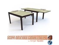 Table NEW SMART G/4704-V OLIVO & GODEASSI 3D Model