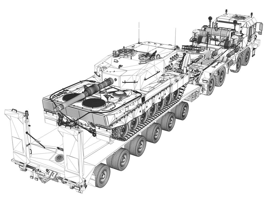 semi tractor trailer specifications