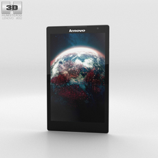 Lenovo Tab S8 White 3D Model