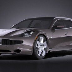 Fisker Surf 2013 VRAY 3D Model