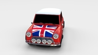 Mini Cooper Rally Edition 3D Model