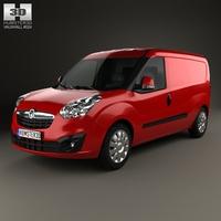 Vauxhall Combo Panel Van L2H1 2012 3D Model