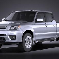 Generic Average Pickup 2015 VRAY 3D Model