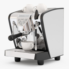 Espresso Machine Simonelli Musica 3D Model