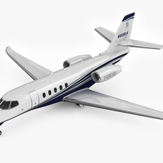 Cessna Citation Latitude 3D Model