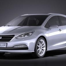 Generic Hatchback v3 2016 VRAY 3D Model