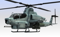 Helicopter AH-1Z Viper 3D Model
