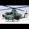 Helicopter AH-1Z Viper 3D Model