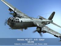 Heinkel He-177 - Greif - 6NHN 3D Model