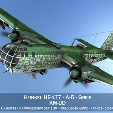 Heinkel He-177 - Greif - KMUD 3D Model