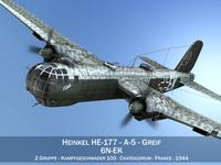 Heinkel He-177 - Greif - 6NEK 3D Model