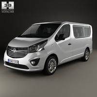 Vauxhall Vivaro Passenger Van L1H1 2014 3D Model