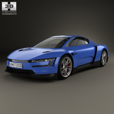 Volkswagen XL Sport 2014 3D Model