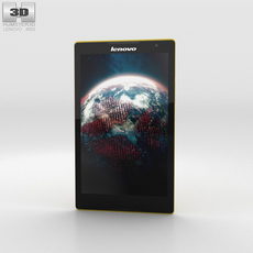 Lenovo Tab S8 Canary Yellow 3D Model