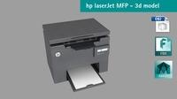 Hp LaserJet Pro MFP 3D Model