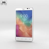 LG L60 White 3D Model