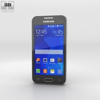 Samsung Galaxy V Black 3D Model