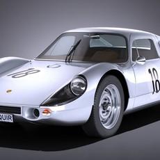 Porsche 904 Carrera GTS 1963-1965 3D Model
