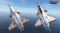 Mobile Low Poly Dassault Rafale 3D Model