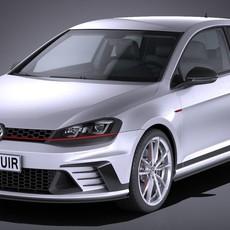 Volkswagen Golf GTI Clubsport S 2017 3D Model