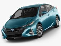Toyota Prius Prime 2017 3D Model