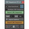 OBJ Sequences Import/Export for Maya 3.0.0 (maya script)
