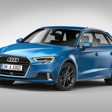 Audi A3 Sportback (2017) 3D Model