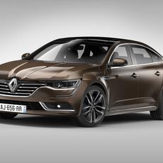Renault Talisman (2016) 3D Model