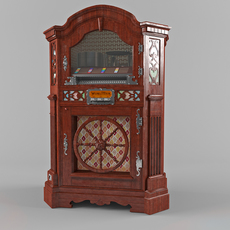 jukebox wurlitzer 780 3D Model