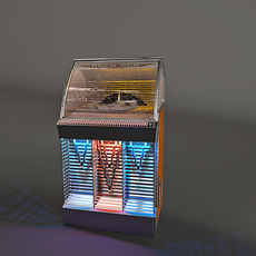 Jukebox Rock-ola 1448 3D Model