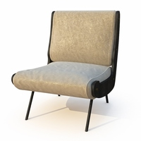 Armchair - Frattini 3D Model