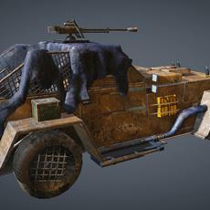 apocalypse car 3D Model