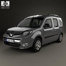 Renault Kangoo 2014 3D Model