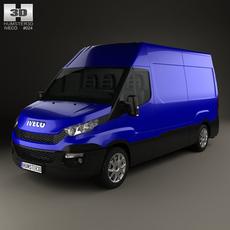 Iveco Daily Panel Van 2014 3D Model