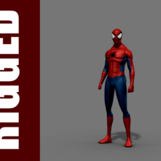 Spider-Man (Rig) 2.0.1 for Maya