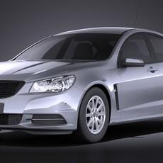 Holden VF Commodore 2014 VRAY 3D Model