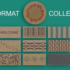 Doormats collection 3D Model