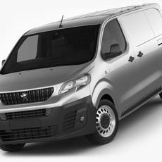 Peugeot Expert 2016 panel van 3D Model