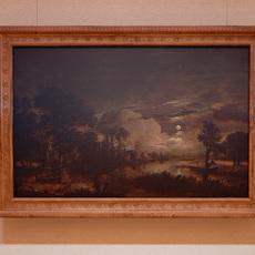 Classical landscape paintings 3D Model
