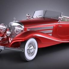 Mercedes 540K 1936 3D Model