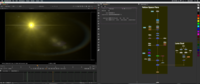 Free Lens Flare: Yellow Space Flare for Nuke 2.0.0 (nuke script)