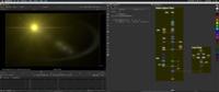 Free Lens Flare: Yellow Space Flare for Nuke 2.0.0 (nuke script)