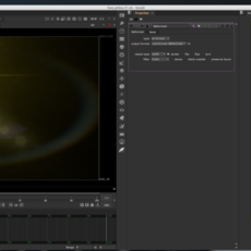 Lens Flare: Yellow Space Flare for Nuke 2.0.0 (nuke script)