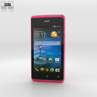Acer Liquid Z200 Fragrant Pink 3D Model