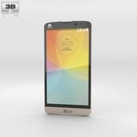 LG L Prime Gold 3D Model