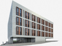 Office Building 08 3D Model